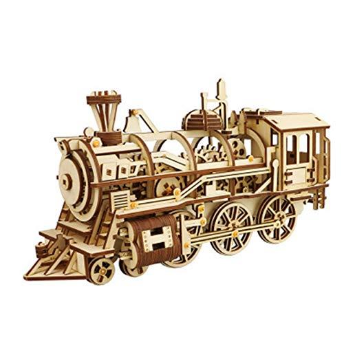 3D-Puzzle Dreidimensionales Puzzle Puzzle für Kinder Rechtschreibeinsatz Modell Puzzle-Zug -BCVBFGCXVB