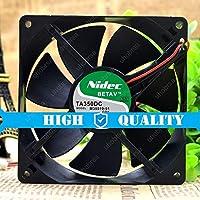 UHOBRSA 互換性があります Nidec TA350DC M35519-51 24V 0.16A 2-線 9CM 9025 冷却ファン