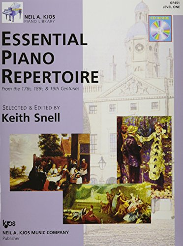 GP451 - Essential Piano Repertoire of the 17th, 18th, & 19th Centuries Level 1