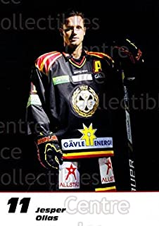 (CI) Jesper Ollas Hockey Card 2013-14 Swedish Brynas IF Tigers Postcards 16 Jesper Ollas