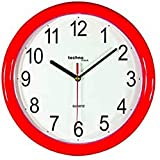 Technoline WT 600 Horloge murale à quartz Rouge