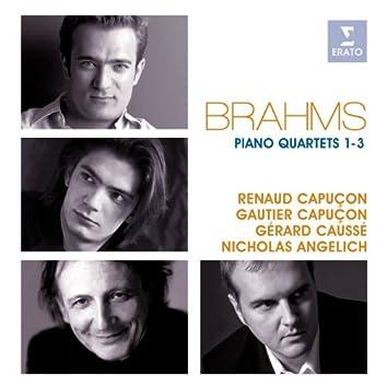 Brahms: Piano Quartets Nos 1-3