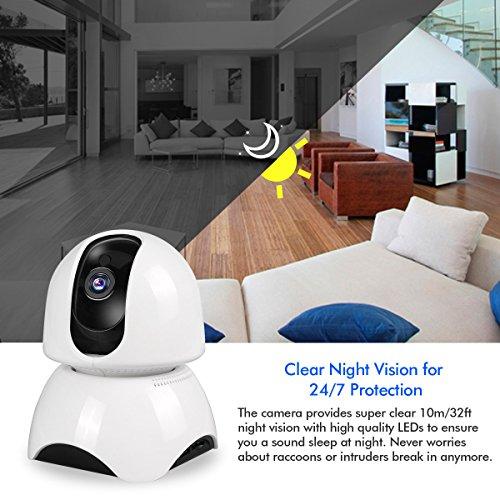 JBonest WiFi IP Camera,1080P HD Wireless Security Camera Pan/Tilt Phone APP Remote Home Surveillance Video Security System 2-Way Talking Night Vision Baby/Elder/Pet Monitoring