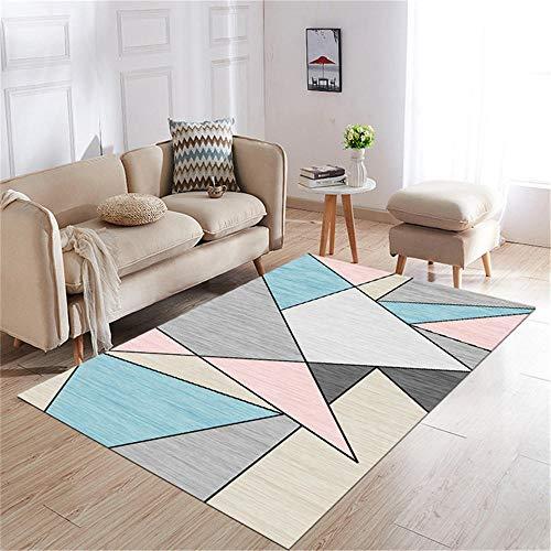 decoracion habitacion alfombra carretera infantil La decoración del dormitorio rectangular de la alfombra de la sala de estar se puede lavar a máquina y no se desvanece alfombras salon 60X90CM 1ft 11.