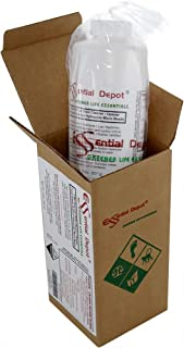 Essential Depot Pure Lye Drain Cleaner/Opener, 2 lbs. Food Grade Sodium Hydroxide Micro Beads - HDPE Container with resealable Child Resistant Cap