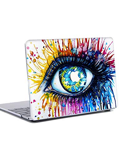 MacBook Pro 13 inch Case 2019 2018 2017 2016 Release Plastic Hard Shell Case Cover for 13 inch MacBook Pro with/without Touch Bar and Touch ID A2159 A1989 A1706 A1708 - Colourful Eye