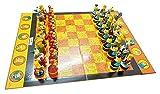 PATAWFFF Ajedrez Juego de ajedrez Muñeca, ajedrez de decoración de Alta Gama, ajedrez de muñecas de Dibujos Animados, para niños, Estudiantes e Hijos. ( Color : A )