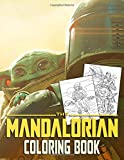 Mandalorian Coloring Book: A great gift for Star Wars The Mandalorian Series fan with exclusive imag...