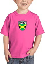 Jamaica - Country Soccer Crest Infant/Toddler Cotton Jersey T-Shirt
