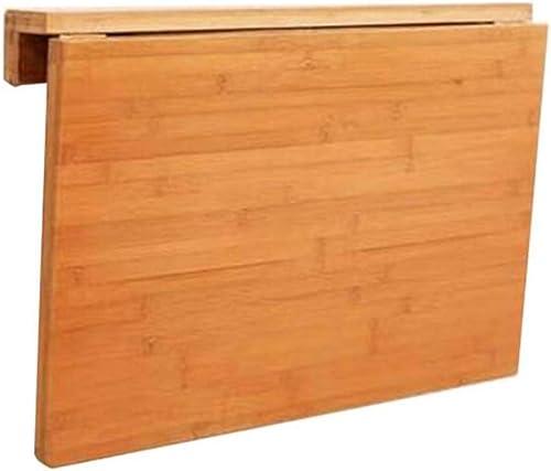 promociones de equipo WNX Mesa Plegable Mesa de Comedor de Mesa de de de Mesa de Mesa de Mesa de Mesa de bambú Natural Mesa de Comedor de Escritorio de Mesa de Escritorio (Tamaño   100×45cm)  venta al por mayor barato
