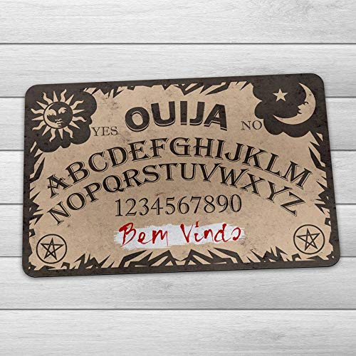 Capacho Eco Slim 3mm Tabuleiro Ouija - Bem Vindo