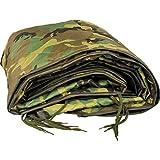 Woodland Military Poncho Liner Woobie Blanket Nylon