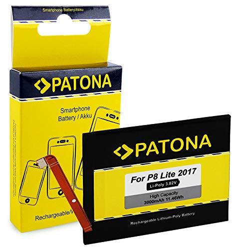 PATONA Batteria HB366481ECW 3000mAh compatibile con Huawei P8 Lite 2017, P9, P9 Lite, P10 Lite, P20 Lite