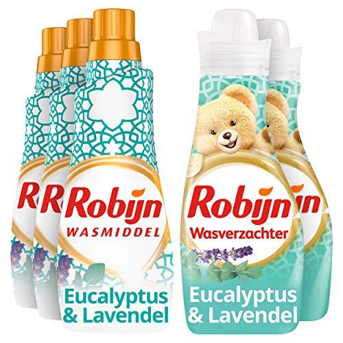 Robijn Perfecte Match Spa Sensation Wasmiddel en Wasverzachter 3 x 21 en 2 x 30 wasbeurten