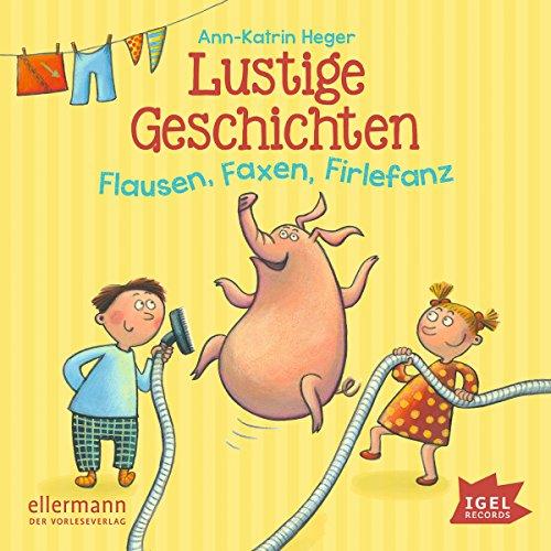 Lustige Geschichten: Flausen, Faxen, Firlefanz audiobook cover art