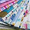25 pz Tessuti Stampato Cotone Tessuti e Stoffe a Metro Cotone Tessuti Stoffe per Patchwork Scampoli Stoffa Fatansia per Cucito Creativo (30cmx30cm) #3