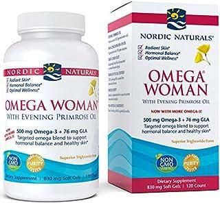 Nordic Naturals - Omega Woman, Evening Primrose Oil Blend, 120 Soft Gels