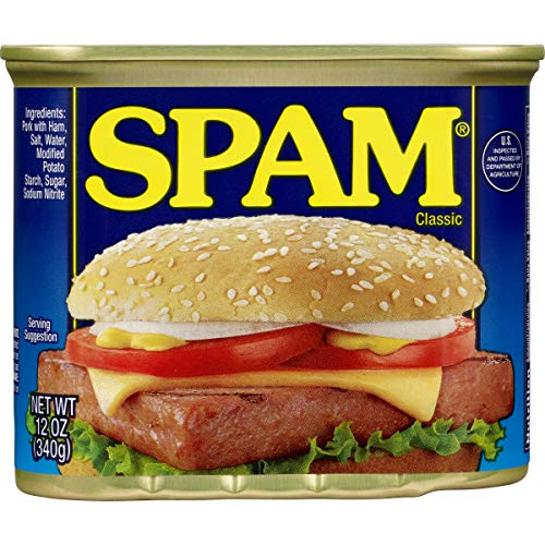 Spam Classic, 12 Ounce Can (Pack of 12)