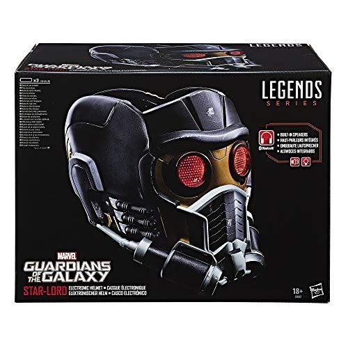 Guardianes de la Galaxia Marvel Legends Series Star-Lord Casco Electrónico (Hasbro C0692EU4)