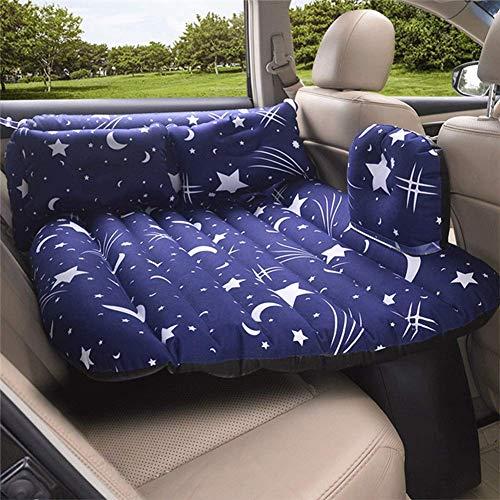 Aufblasbares Auto-Bett, Geteilte Luftmatratze, Geländewagen-Reisebett, tragbare aufblasbare Matratze mit Luftpumpe, Couchkissen Travel Outdoor, (Farbe: F)