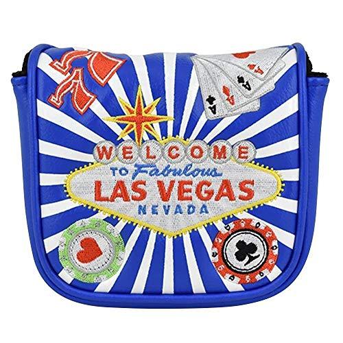 PRG Originals Vegas Spider Mallet Putter Cover (Blue)
