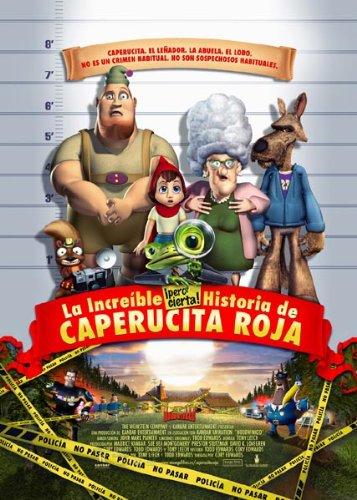 La Increíble Pero Cierta Historia de Caperucita Roja [DVD]
