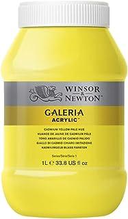 Winsor & Newton Tinta Acrílica Galeria W&N 1 Litro 114 Cadmium Yellow Pale Hue