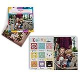 Fotoprix Puzzle Educativo Personalizado con la Foto del niño o de la niña | 5 Modelos Diferentes para coleccionar | Puzzle Infantil de 40 Piezas Grandes | Colores (Euskera)