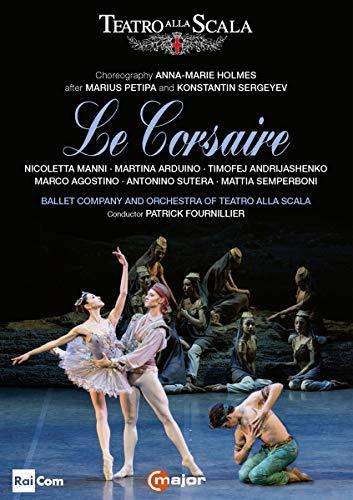 Holmes, A.-M.: Corsaire (Le) [Ballet] (La Scala Ballet, 2018) [DVD]