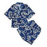 Amosfun Kids Kimono Japanese Dress Kimono Japanese Pyjamas for Kids Niños