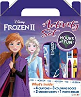 Disney Frozen 2 Coloring and Activity Carry Set with Sticker Sheets AS45853 Bendon, Multicolor