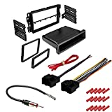 CACHÉ KIT794 Bundle with Car Stereo Installation Kit for 2006 – 2013 Chevrolet Impala – in Dash Mounting Kit, Harness, Antenna Adapter for Double or Single Din Radio Receivers (4 Item)