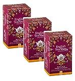 English Tea Shop Té Negro Orgánico Infundido Con Jengibre Picante y Melocotón - 3 x 20 Sobres (120 gramos)