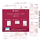Adams 1099-MISC KIT for 40 recipients (40 5-Part Sets, 40 Peel & Seal Security envelopes, 6 1096 Summary Forms) Plus Access to Adams Tax Forms Helper Online 2019