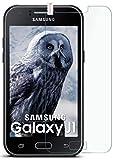 MoEx® Matte Panzerglasfolie aus 9H Echtglas passend für das Samsung Galaxy J1 (2015)   Kratzfest, Entspiegelnd + Reduziert Fingerabdrücke