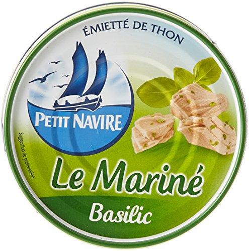 Petit Navire de Thon Le Mariné Basilic La Boîte...