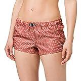 PUMA Swim Women's Printed Boardshorts Bermudas, marrón, S para Mujer