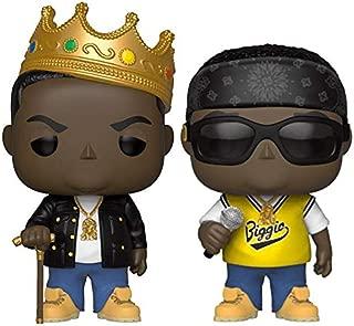 Funko Pop! Rocks: The Notorious B.I.G. Collectible Vinyl Figures, 3.75