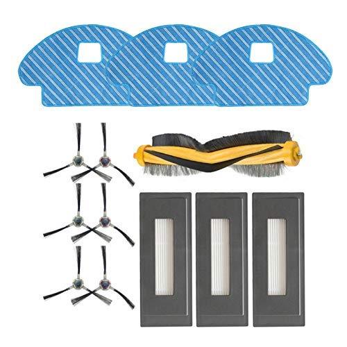 Kit de remplacement pour brosse latérale principale pour aspirateur Ecovacs Deebot OZMO 930