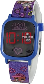LOL Surprise Purple LED Digital Watch