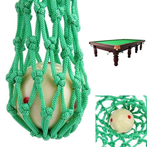 YSHTAN Biljart Pocket Net Ball Sporting Net 6 Stks Duurzame Nylon Snooker Tafel Mesh Net Tassen Zakken Biljart Pool Club Kit