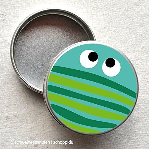 Minidose Lustiger Käfer dunkelgrün