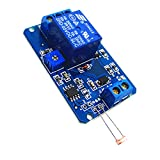 Sharplace 5V Modulo Relè re Fotoresistore Interruttore di Controllo Luce Rilevazione Lumi...