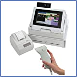 Royal TS4240 Thermal Touch Screen Cash Register with Thermal Printer + PS700 Hand-Held Barcode Scanner