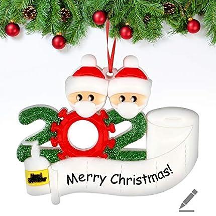 Decoraciones para árboles de Navidad Decoraciones para el hogar Que sobreviven a Las Decoraciones navideñas 2021 Adorno de árbol de Navidad