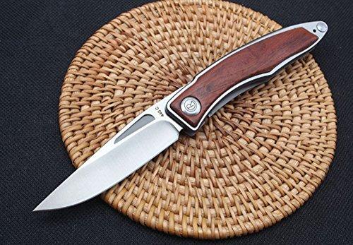FARDEER Knife CR hochwertiges Stahlschloss V Gold Taschenmesser