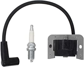 20 584 03-S Ignition Coil Module + Spark Plug for Kohler Courage Command SV470 SV480 SV530 SV540 SV590 SV600 SV610 SV620 15 16 17 18 HP Engine Motor MTD Riding Lawn Mower Tractor Cub Cadet 74360 74363