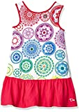 Desigual Girl Knit Dress Sleeveless (Vest_argel) Robe, Blanc (White 1000), 152 (Taille Fabricant:...