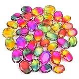 gemhub Multi-Color Ametrine 500.00 Ct Lot of 6 Pcs Oval Shape Multi-Color Ametrine Loose Gemstones Lot for Jewelry Making