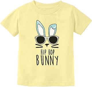 Tstars - Hip Hop Bunny Funny Gift for Easter Toddler Kids T-Shirt